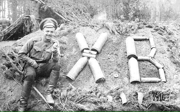 Пасха в 1-й Мировой войне